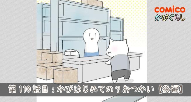 第110話目:かぴ、はじめての?おつかい【後編】