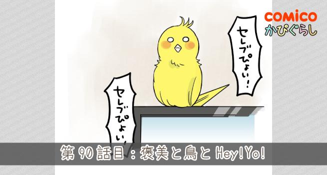 第90話目:褒美と鳥とHey!Yo!