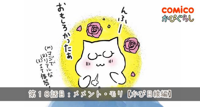 第18話目:メメント・モリ【かぴ目線編】