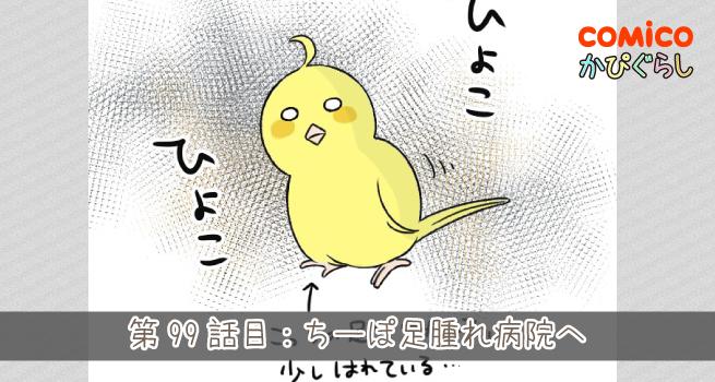 第99話目:ちーぽ足腫れ病院へ【前編】